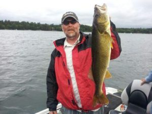 Fishing guide Todd Andrist