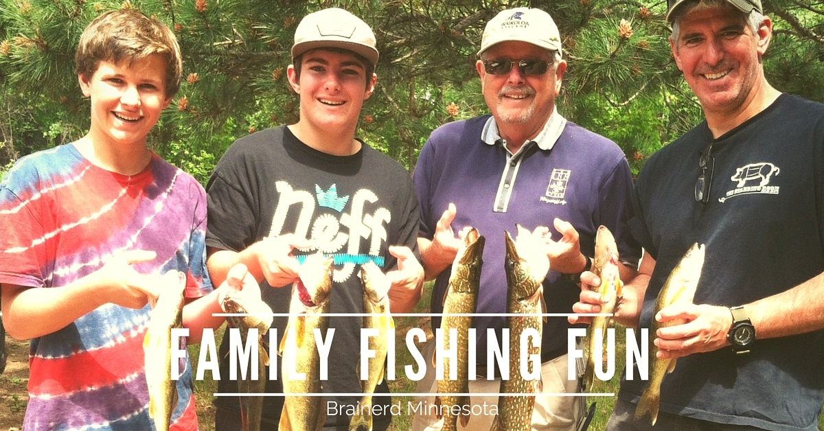Family Fishing Trip Brainerd